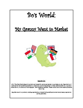 Literature-based Unit:  My Granny Went to Market