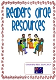 Literature circles / Readers circle worksheets for reading groups