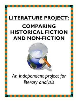 Literature comparison project - historical fiction and non