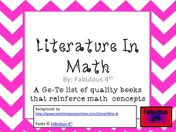 Literature in Math