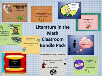 Literature in the Math Classroom Bundle of 10