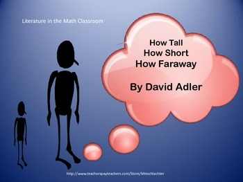 Measurement using How Tall How Short How Faraway?