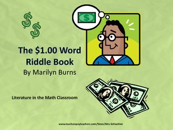 Decimal Addition with The One Dollar Riddle Book