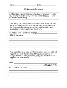Literature job Sheets - can be used with any text