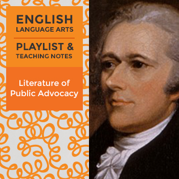 Literature of Public Advocacy - Playlist and Teaching Notes