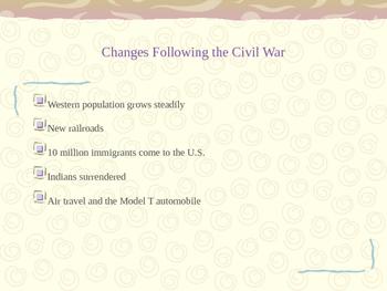 Literature of Westward Expansion PowerPoint