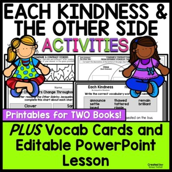 Each Kindness And The Other Side Picture Book Lessons By Teresa
