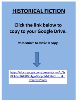 Historical Fiction - Literature with Common Core Standards
