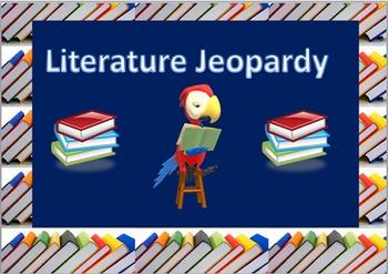 Library Jeopardy /Literature Jeopardy 2
