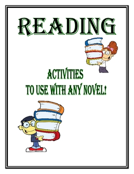 Literature/Reading Activities to Use With Any Book