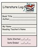 Literature/Reading Response Log
