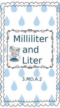 Liters and Milliliters