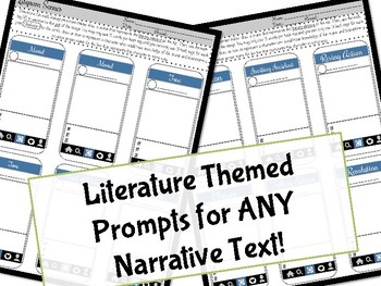 Litgrams & Infograms Mini Bundle for ANY Text {Middle Grades}