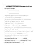 Lithosphere, Hydrosphere, and Atmosphere Study Jams Worksheet