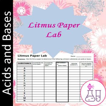 Litmus Paper Lab