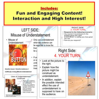 Litotes and Understatement: Powerpoint Lesson and Exercises