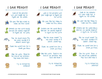 Litteracy Strategies Critter Bookmark