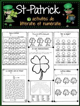 Littératie & Numératie - Saint-Patrick - Literacy and Numeracy Activities