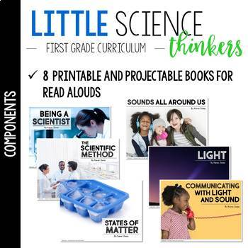 Little 1st Grade SCIENCE Thinkers {UNIT 1: Light and Sound}