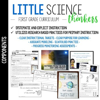 Little 1st Grade Science Thinkers By Karen Jones