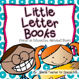 **Little Letter Books-- Interactive Alphabet Books