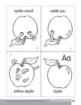 Little Alphabet Reader: Aa Apple