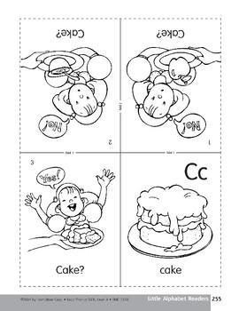 Little Alphabet Reader: Cc Cake