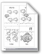 Little Alphabet Reader: Ff Fish