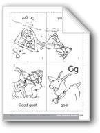 Little Alphabet Reader: Gg Goat