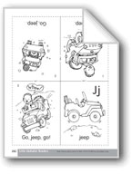 Little Alphabet Reader: Jj Jeep