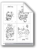 Little Alphabet Reader: Jj Jeep