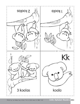 Little Alphabet Reader: Kk Koala