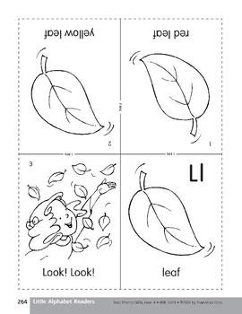 Little Alphabet Reader: Ll Leaf