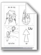 Little Alphabet Reader: Uu Up