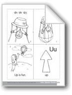 Little Alphabet Reader: Uu Up