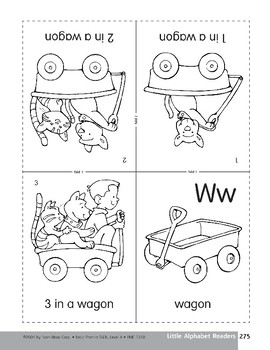 Little Alphabet Reader: Ww Wagon