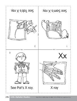 Little Alphabet Reader: Xx X-ray
