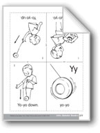 Little Alphabet Reader: Yy Yo-yo