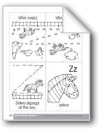 Little Alphabet Reader: Zz Zebra