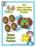 Little Apple Frog - Back to School - Alphabet / Letter Puz
