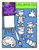 Little Artist Kids {Creative Clips Digital Clipart}