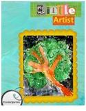 Little Artist Lesson Lawrence Tree Art Project
