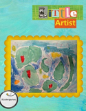 Little Artist Lesson Monet Lily Pads Project