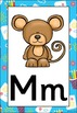 Little Artist Themed Alphabet Posters Frieze {UK Teaching