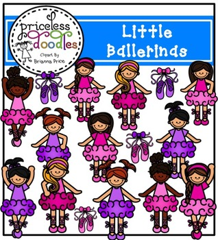 Little Ballerinas (The Price of Teaching Clipart Set)