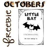 Little Bat - a printable Halloween book