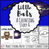 Halloween Math Emergent Reader Counting Bats