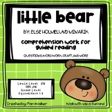 Little Bear Comprehension for Guided Reading