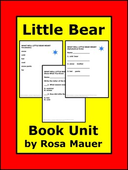 Little Bear Reading Comprehension Questions