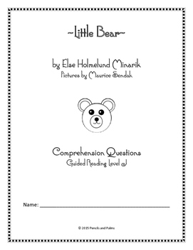 Little Bear - Small Group Comprehension Questions